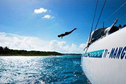 Guadeloupe sea