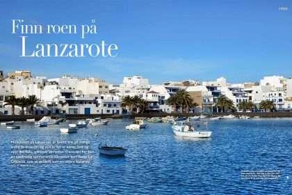 Finn roen på Lanzarote