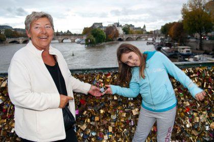 Paris med barnebarn